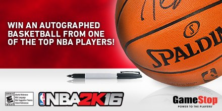 It's a layup! RT for a chance to win a signed bball  @NBA2K #PostUpAndWin #Sweepstakes https://t.co/I3y1cLRcJT