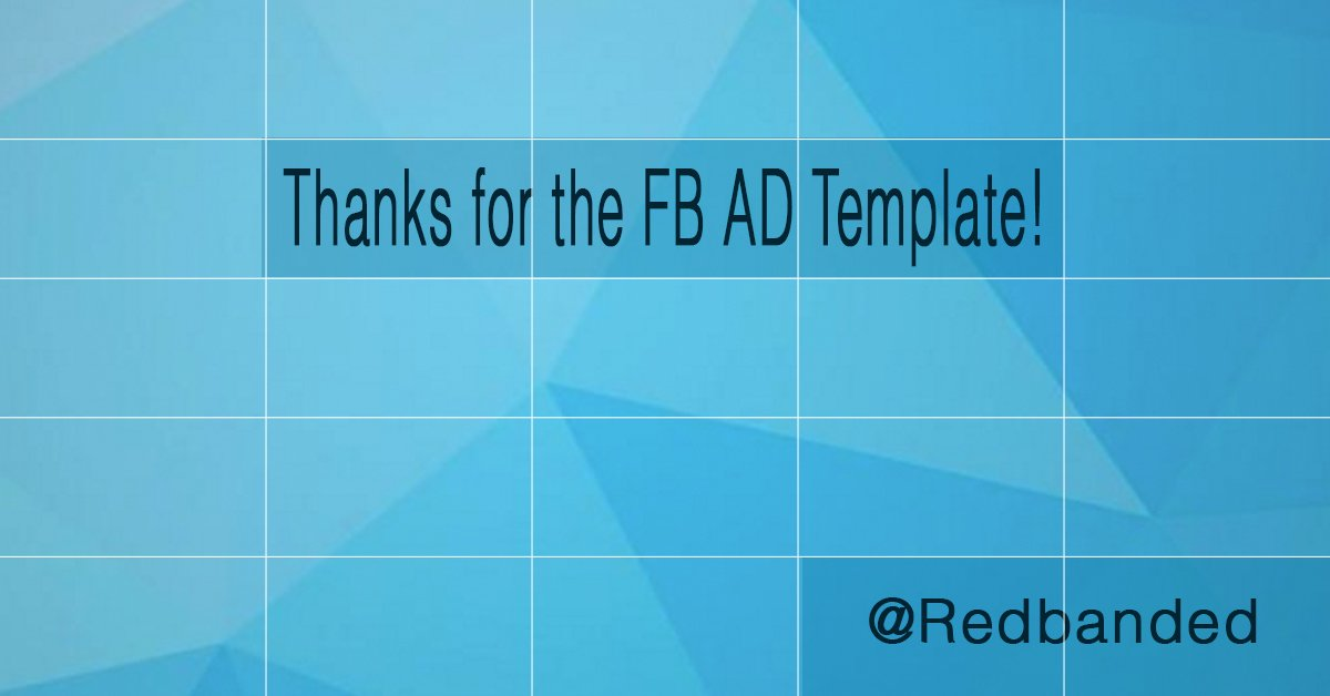 James Sunderland On Twitter Nice Facebook Ad Template PSD To Help - Facebook ad grid template
