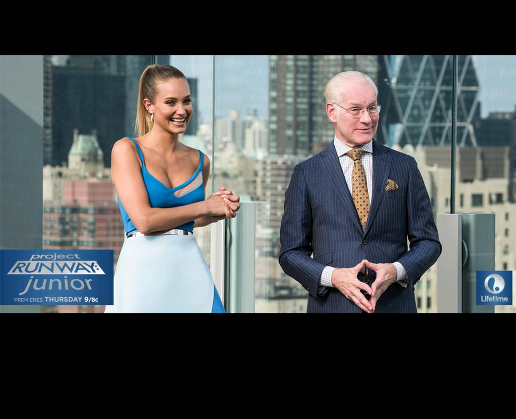 Hannah Jeter  - Excited to i twitter @hannahbjeter projectrunwayjunior