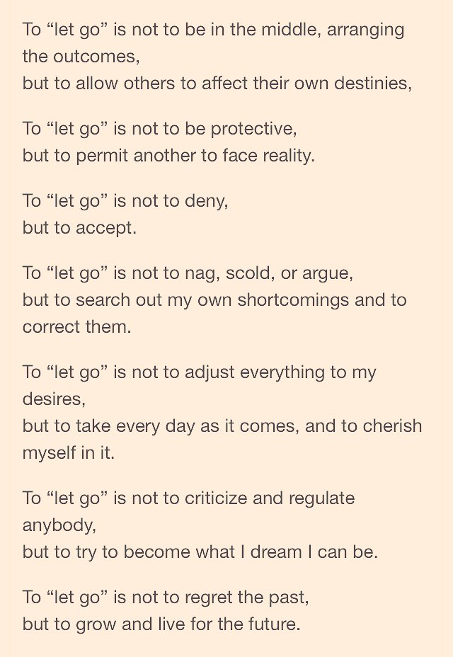 Janine Piccirella On Twitter Poem To Let Go Takes Love