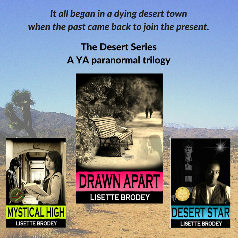 My #YA #parnormal trilogy, The Desert Series, is done!