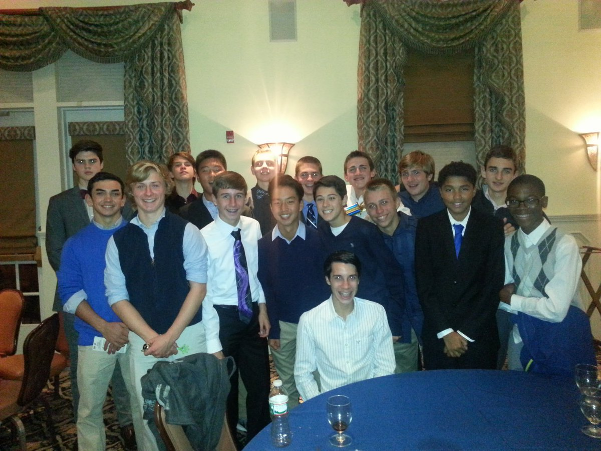 Sophomores celebrating their season at the 12th annual WHS soccer dinner. #yourtimeisnow #whowillstepup <br>http://pic.twitter.com/9JeseCYNwf