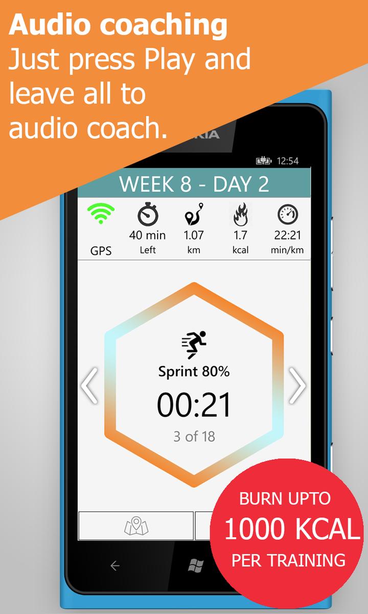 slim down in 8 weeks app