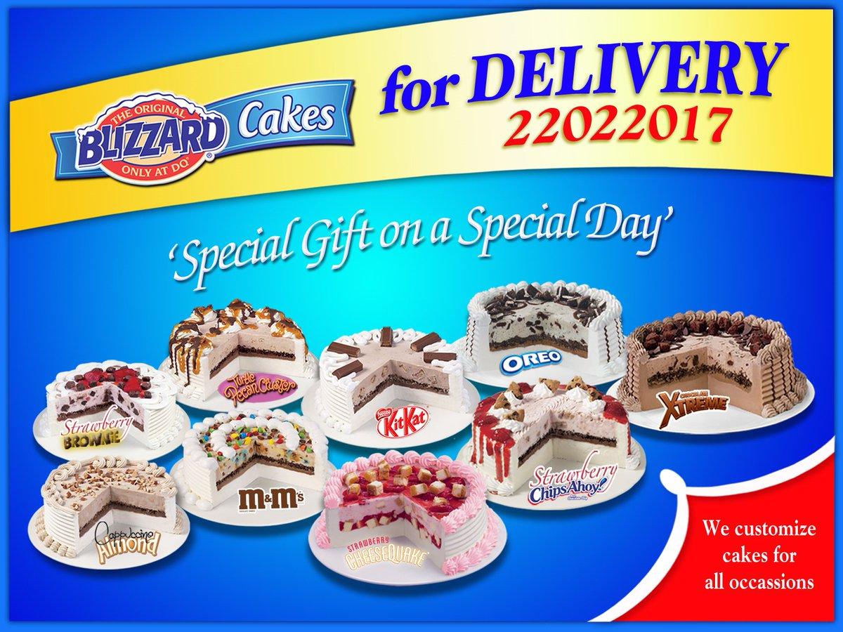 Dairy Queen Kuwait on Twitter We customize ICE CREAM CAKES for