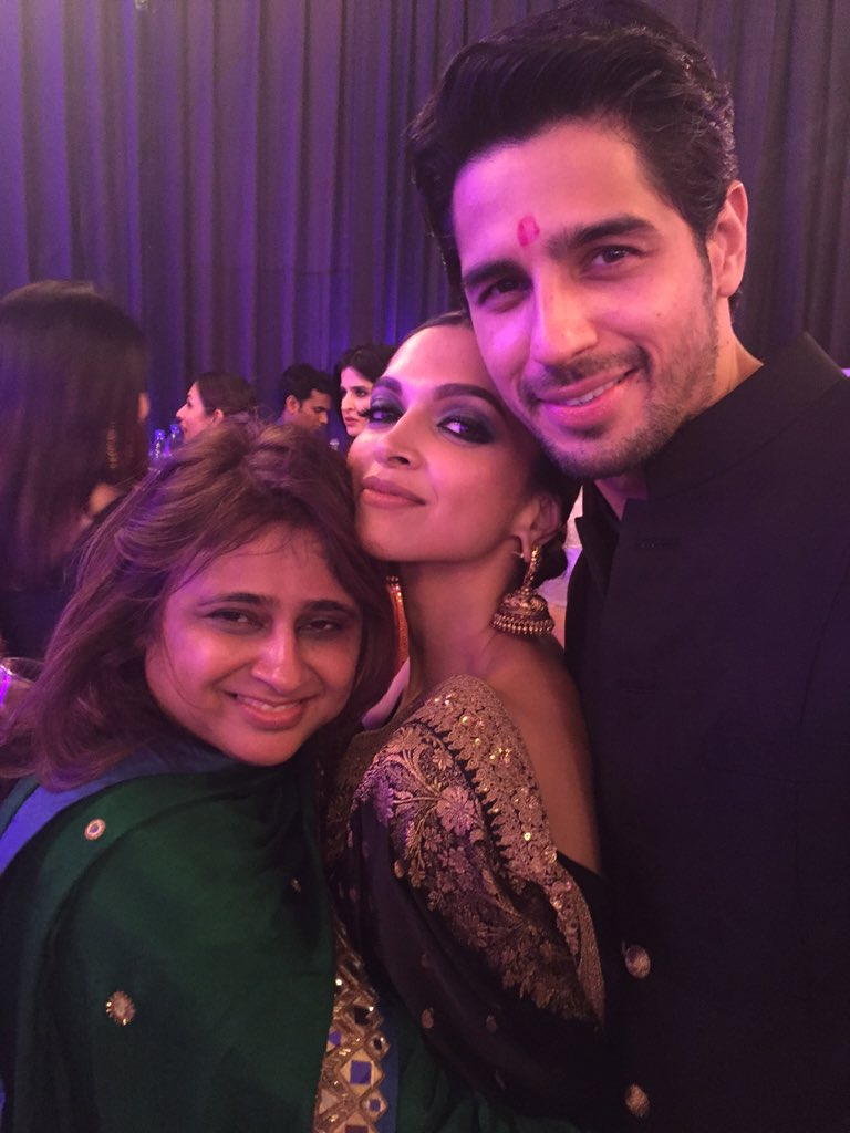 Had the best Diwali Last night. Too much fun! With these gorgeous peeps @S1dharthM @deepikapadukone https://t.co/Olw6mf6UQd