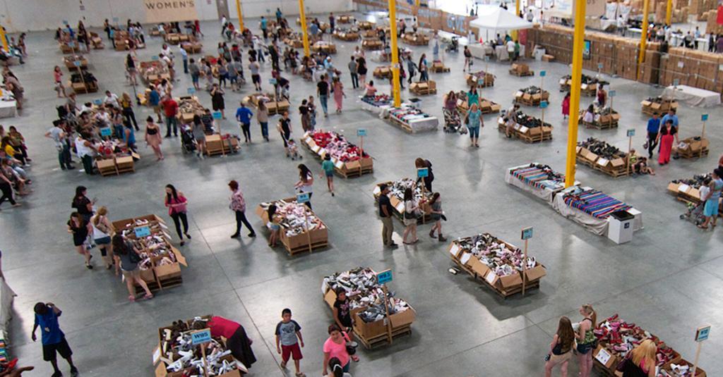 TOMS Warehouse Sale in #Dallas starts