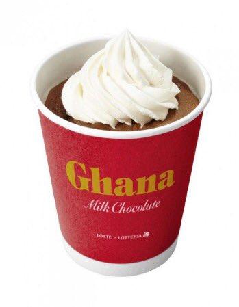 ロッテリアから「ガーナミルクチョコレート」をたーっぷり使った4種類のチョコレートスイーツが新発売