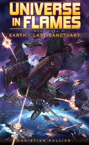 Earth - Last Sanctuary 1st Book of  Universe in Flames  #KindleUnlimited https://t.co/mv8tb92IKl #sfrtg #iartg