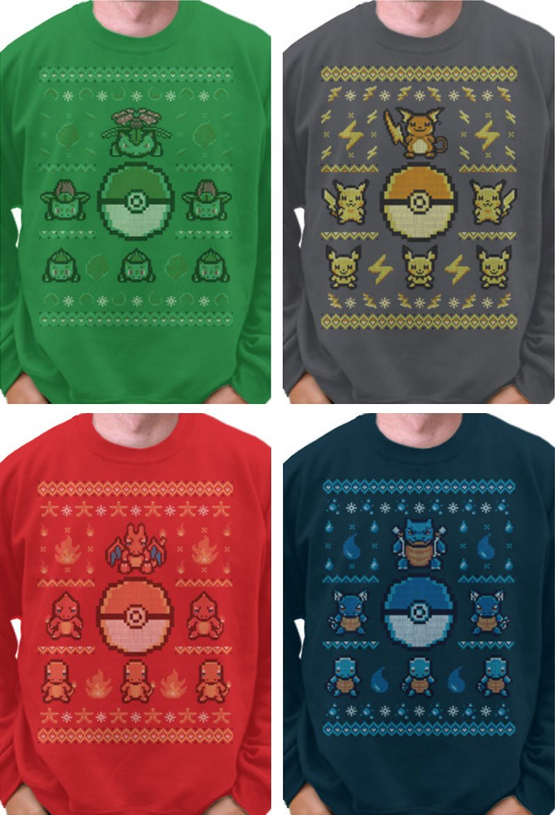 Anime Christmas Sweater.Shut Up Take My Yen On Twitter Pokemon Ugly Christmas