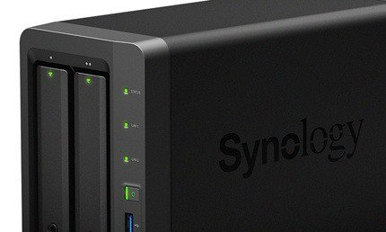 Server NAS DiskStation DS716+ di Synology, ideale per la crescita del proprio business