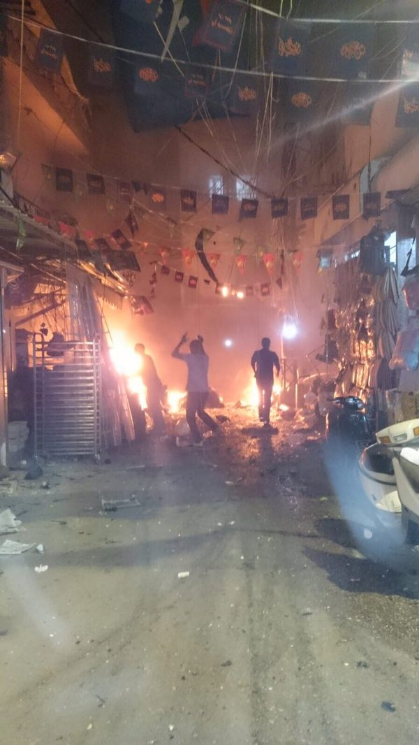 BREAKING: At least 4 killed, 40 wounded as twin suicide bombings rock #Beirut - reports https://t.co/aDeSPMc3hC