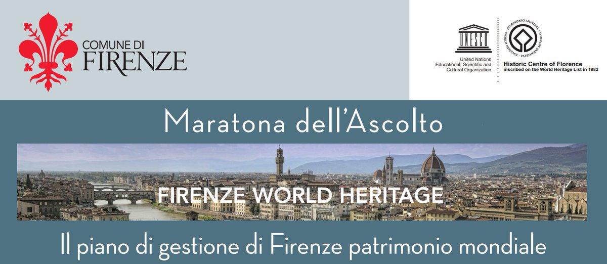 #Firenze patrimonio @UNESCO al centro della V #MaratonaAscolto di @comunefi su strumenti e soluzioni innovative https://t.co/3CDPEojula