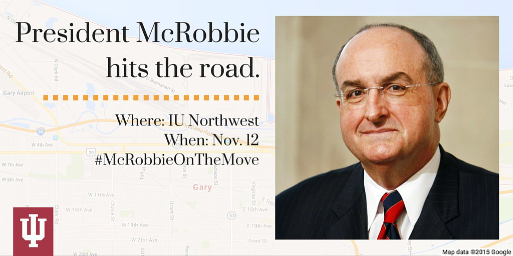 Thumbnail for #McRobbieontheMove: IU Northwest