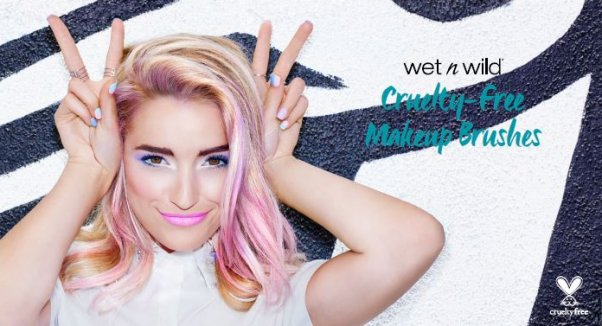 @wetnwildbeauty teams with @peta to create gorgeous #vegan line of brushes launching 2016 - https://t.co/TeKzO4sRxg https://t.co/kAbDwtE7Qa