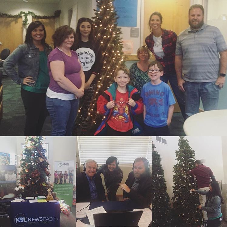 ksl newsradio on twitter now christmas box house for a special show w christmas music and stories utahgivesback httpstco8en52ic3p6