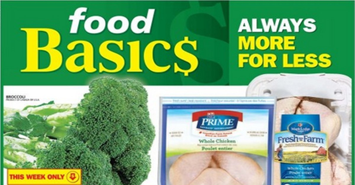 Save On Twitter Exclusive Weekly Savings In Food Basics Flyer