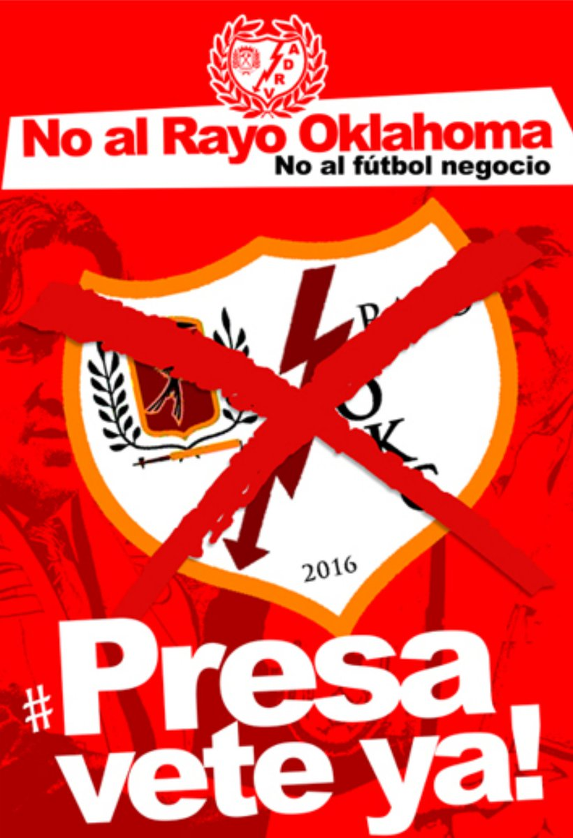 "COMUNICADO OFICIAL ""NO AL RAYO OKLAHOMA"" RT. https://t.co/GhJIvrskgI"