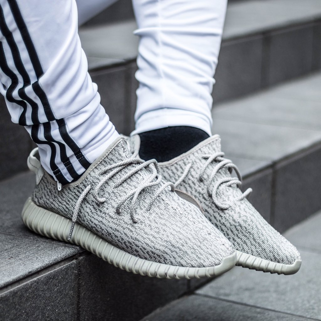 Adidas Yeezy On Foot