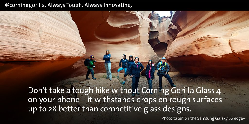 Be ready for tough situations w/ #GorillaGlass4. It's designed to meet the needs of any work mom's busy lifestyle. https://t.co/qs9PlBah2T
