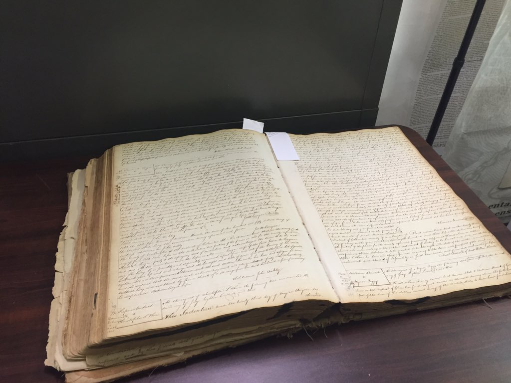 Slave records at DC Archives. In the 1800's the DC Jail would store your slave for 10 cents a day https://t.co/lATkPDmadB