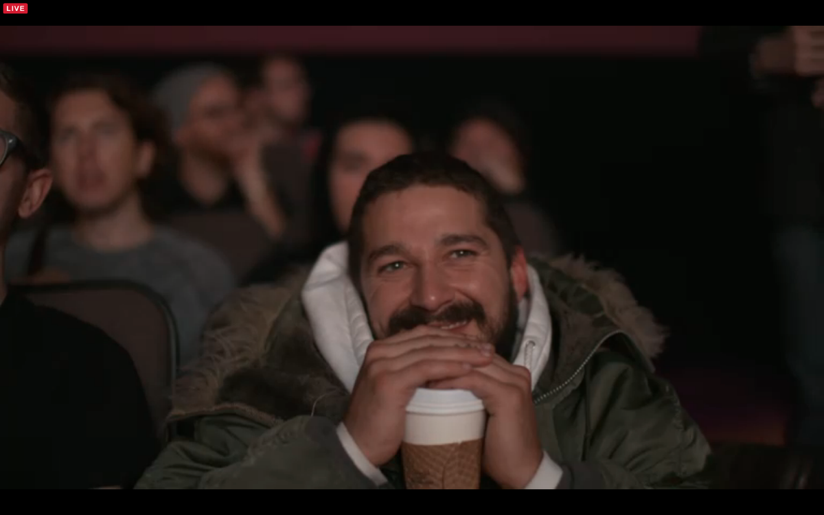CTorMRgXAAQTacz shia smiling during _even stevens_ allmymovies know your meme