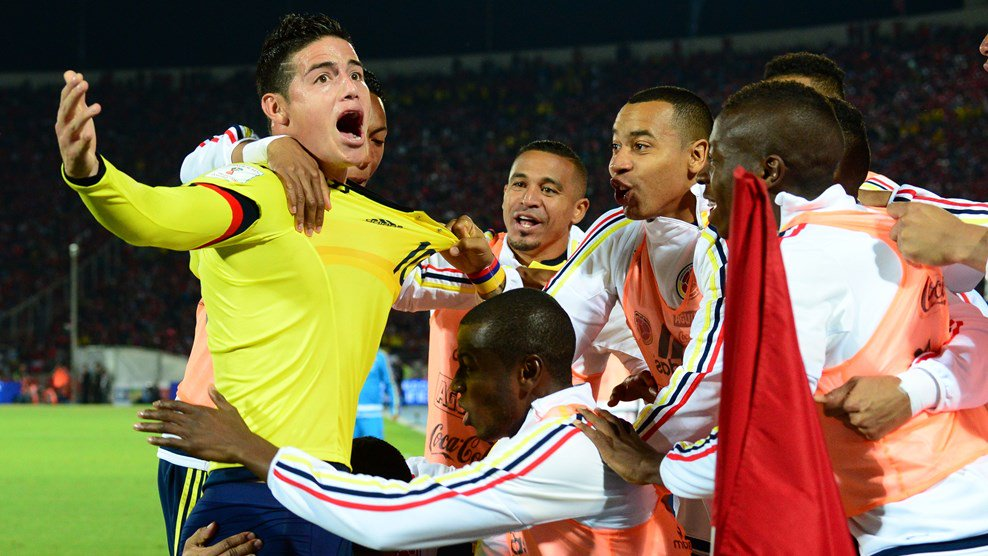Cile-Colombia 1-1 Video: James Rodriguez pareggia con un gol stupendo