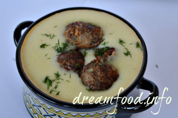 Картофельный крем суп рецепт