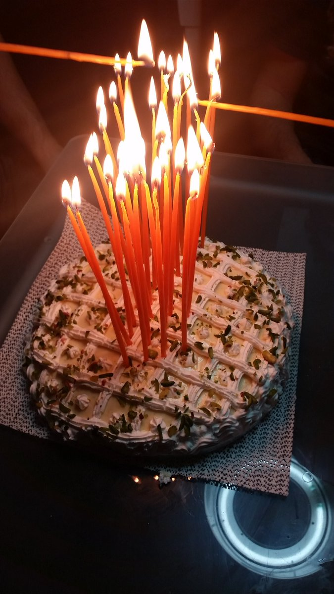John Pagonis On Twitter Almond And Pistachio Birthday Cake On Fire