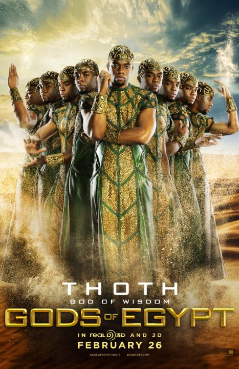 Gods of Egypt posters spark anger with 'whitewashed' cast | Film