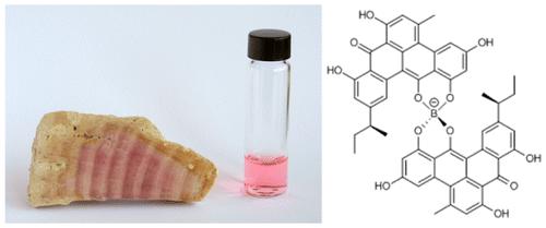 【論文】 ジュラ紀の紅藻から得られるピンク色素の構造解明。わずか50μgのサンプルから決定! 1億5千万年も安定という事実に驚愕、分子構造も想像を絶する!!(JACS) https://t.co/JeVEwg09AX https://t.co/jFT27vOA6p