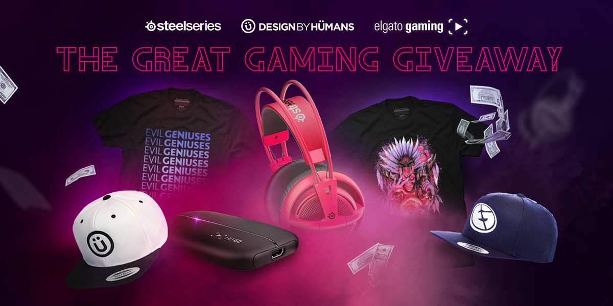 You're not gonna want to miss the #GreatGamingGiveaway w/prizes from SteelSeries and Elgato! https://t.co/rSCsUq22n7 https://t.co/El0Bz5DOI2