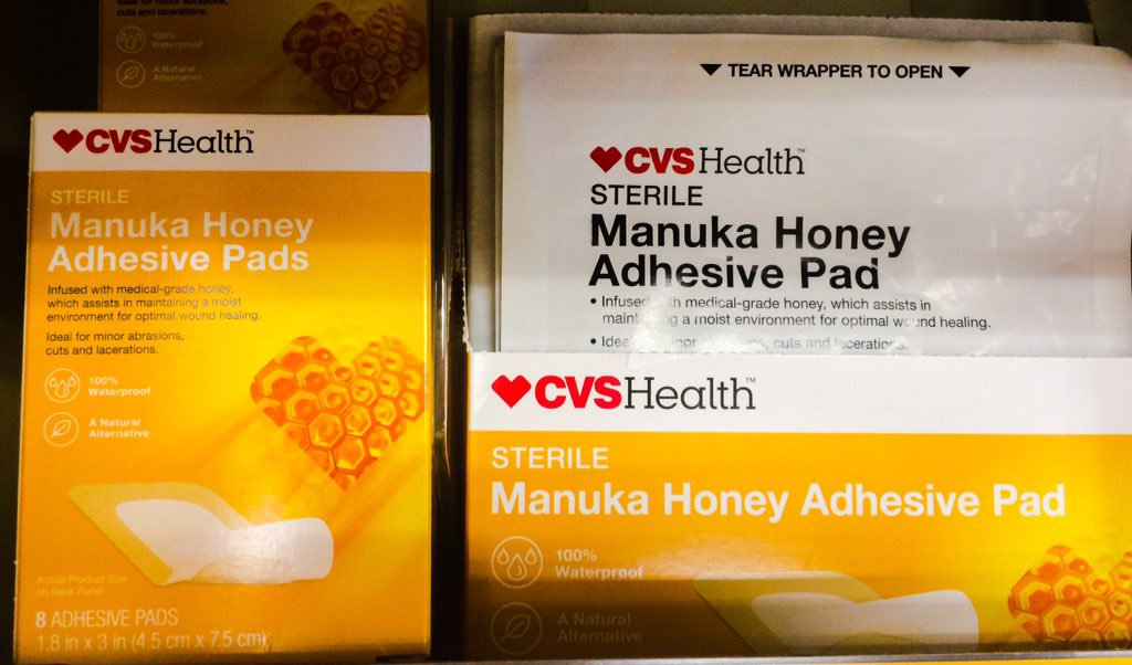 Image result for CVS Health's Manuka Honey Adhesive Pads