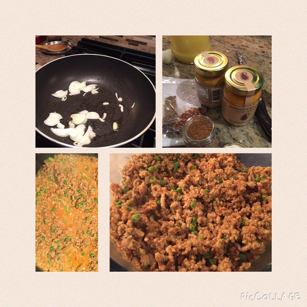 Keema w/ mattar created w/ @jaswantskitchen spices from my gift from @masalamommas @ChevroletCanada #mmchevy https://t.co/5RmnTY8t7d