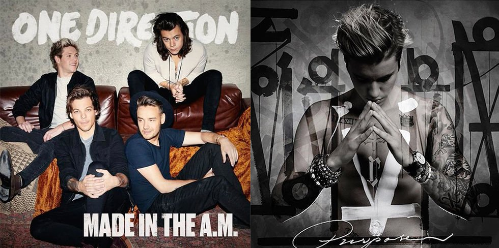 Which album are U listening to first gang? RT for @onedirection's #hitz1DAM Like for @justinbieber's #hitzJBPurpose? https://t.co/olwfCeyHe2