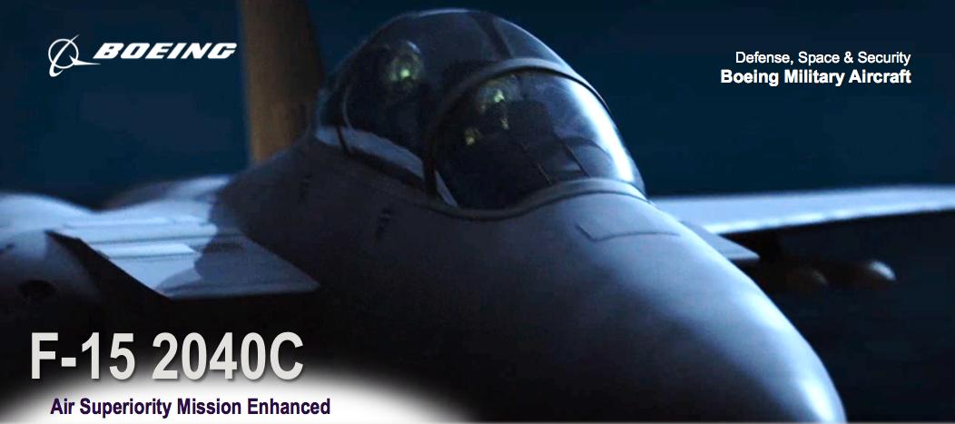Vídeo: Boeing – Advanced F-15 2040C