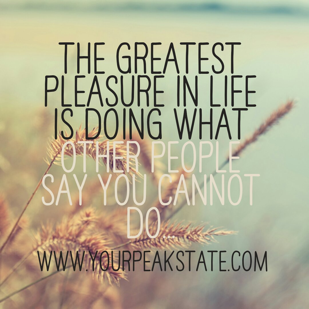 your peak state on inspirational quotes entrepreneur
