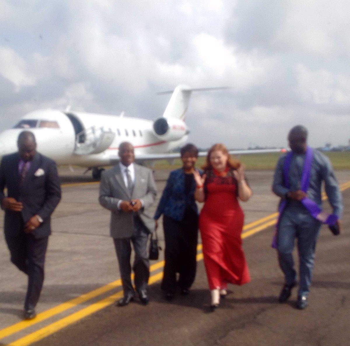 Pictures Of David Abioye Jet: STYLE-Bishop David Oyedepo Visited Bishop Idahosa