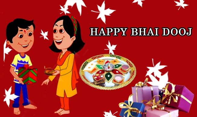 Happy Bhai Dooj / Bhau Beej Greetings in English  IMAGES, GIF, ANIMATED GIF, WALLPAPER, STICKER FOR WHATSAPP & FACEBOOK