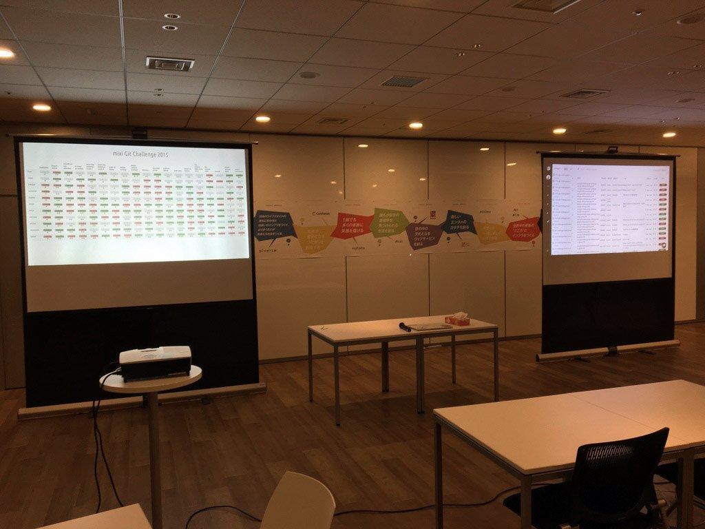 git repoの無理難題を解いていく新しい技術イベントgit challengeはいよいよ明後日! 参加者の皆さん, お待ちしてます! https://t.co/hvzUwNDz5e #mixi_git #mixi_collabo https://t.co/S5B79DUy4b