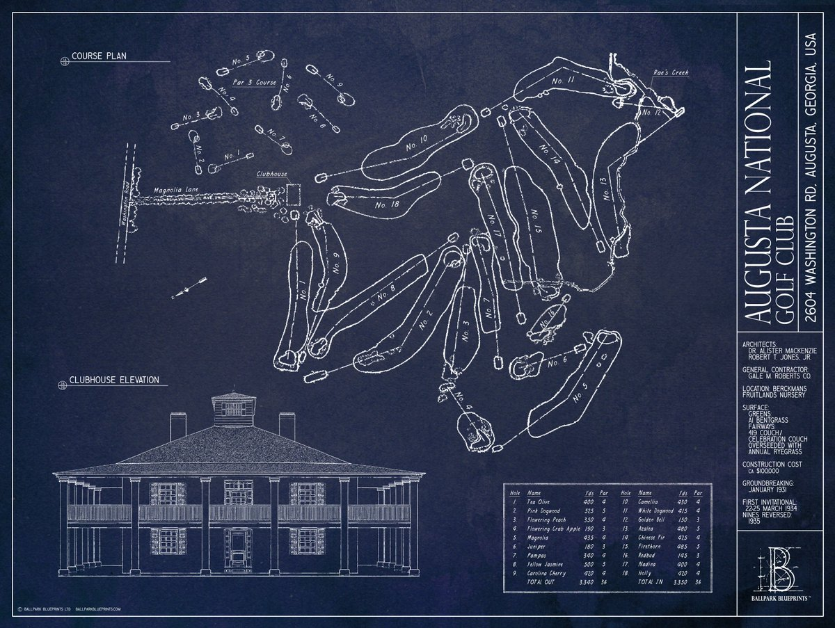 Ballpark blueprints on twitter bpbpbracket rt for 16 augusta ballpark blueprints on twitter bpbpbracket rt for 16 augusta national fav for 49 pnc park themasters bucsdugout httpstx0k4corkh5 malvernweather Gallery