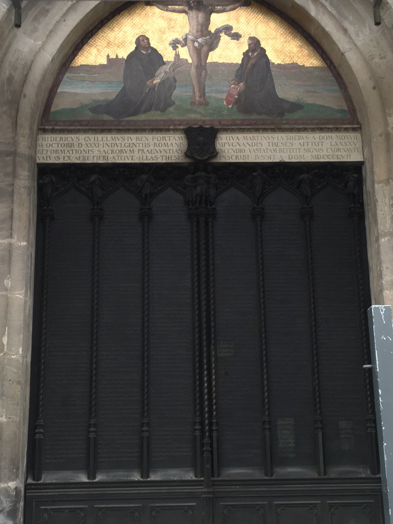 Decorating martin luther church door photos : Brussels2Berlin: Martin Luther and German nationalism