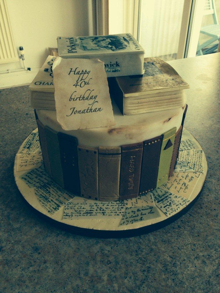 Jonathan Buckmaster On Twitter Fabulous Dickens Cake For My