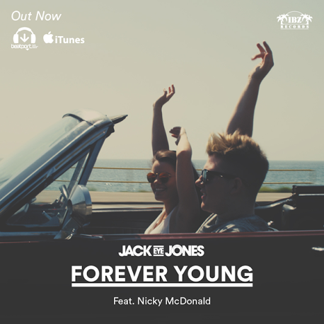 RT @jackeyejones: My new club mix of #ForeverYoung Ft. @nickymcdonald1 is out now on Beatport!! https://t.co/axYvXPNShT https://t.co/rprlnE…