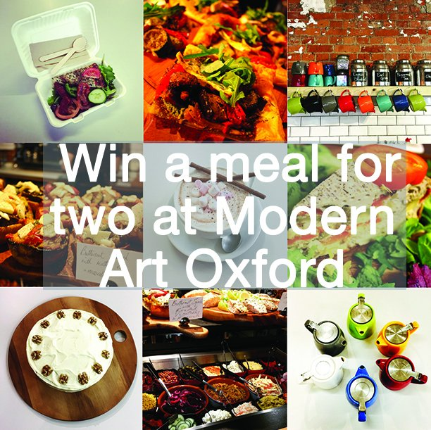 WIN a two course meal for two at @cafe_MAO - to enter follow @DailyInfoOxford & re-tweet this image - enter now! https://t.co/w9WPMSKQx3