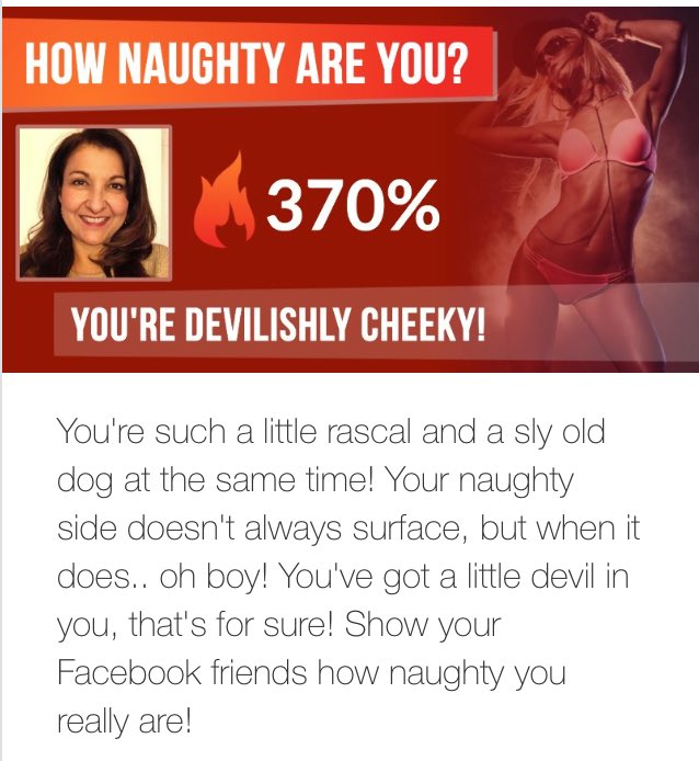 how naughty are you