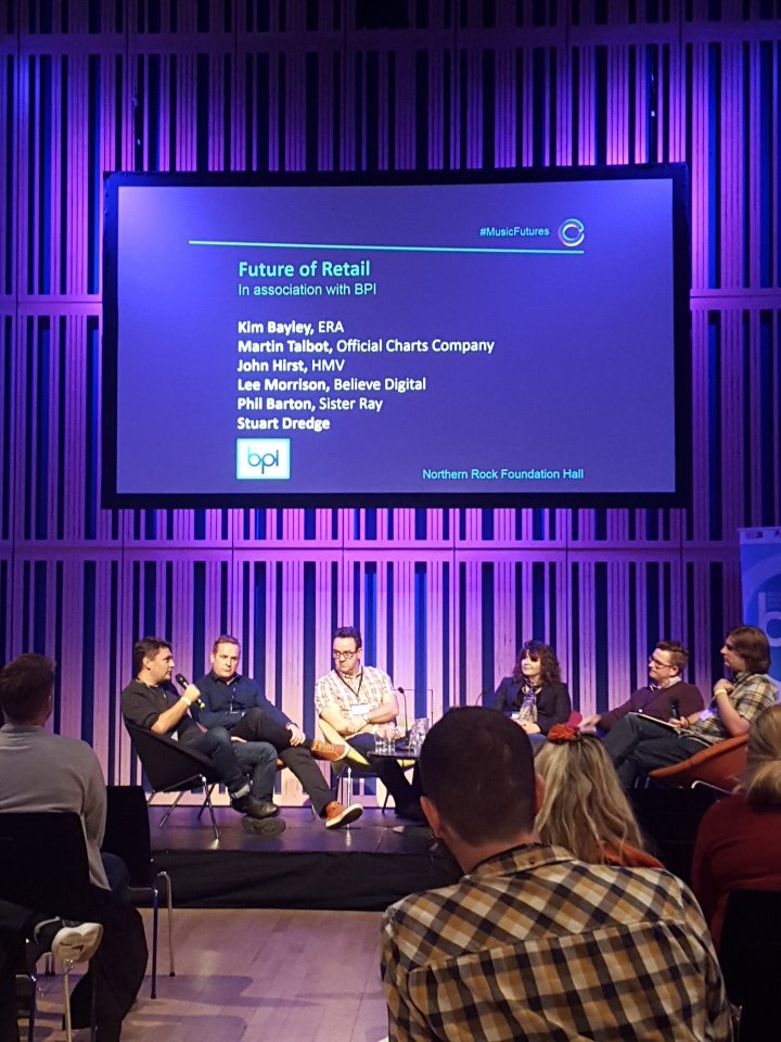 The Future of Retail panel from yesterdays @GeneratorNE's #MusicFutures conference. What a fantastic day it was! https://t.co/dCMrgigMeb