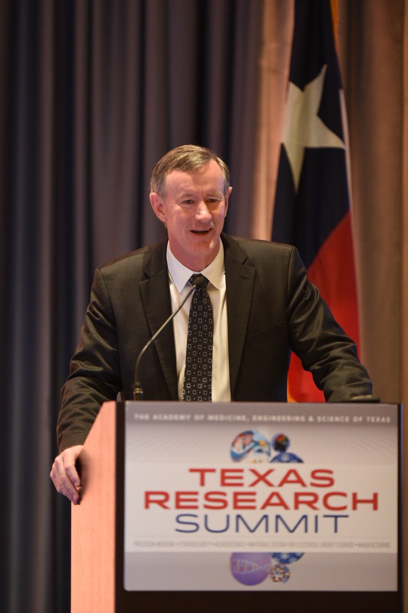 ". @billmcraven at #TAMEST Research Summit: ""U.S. is all about discovery, always looking for the next great idea."" https://t.co/7eCKcFWeBa"