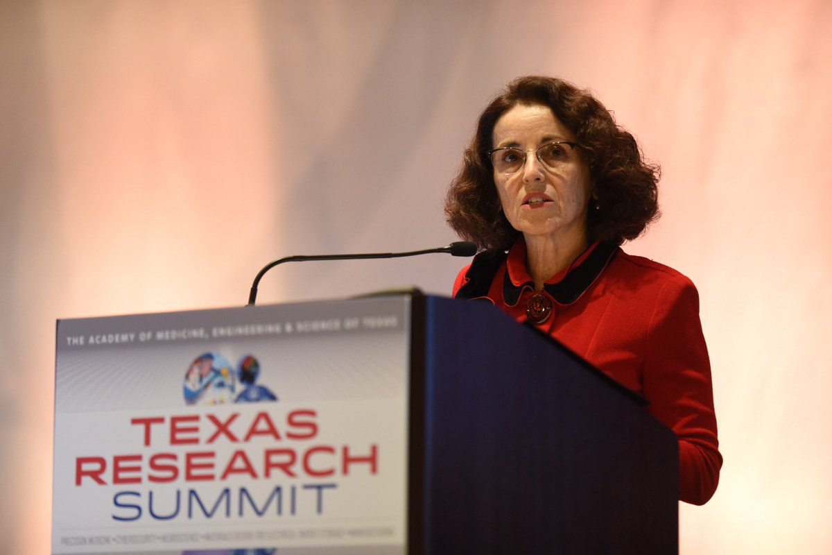"Dr. Córdova of @NSF: ""We invest in all of you in science + engineering, and the outcomes are spectacular."" #TAMEST https://t.co/tTrbc4TSbU"