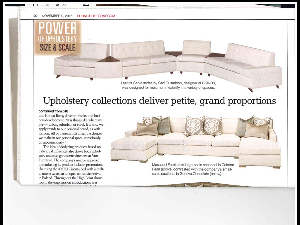 Power Of Upholstery Go New Gable @BKIND3 @LuvLazar Photo+quote In  @FurnitureToday Thx @SFCouncil Go Greenpic.twitter.com/kLcm55hH6h