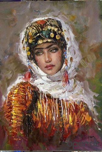 art modern turkish painting ramzi taskiranpictwittercomwzh1lpitfp - Modern Trkis